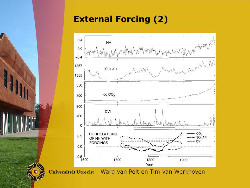 External Forcing (2) Ward van Pelt en Tim van Werkhoven