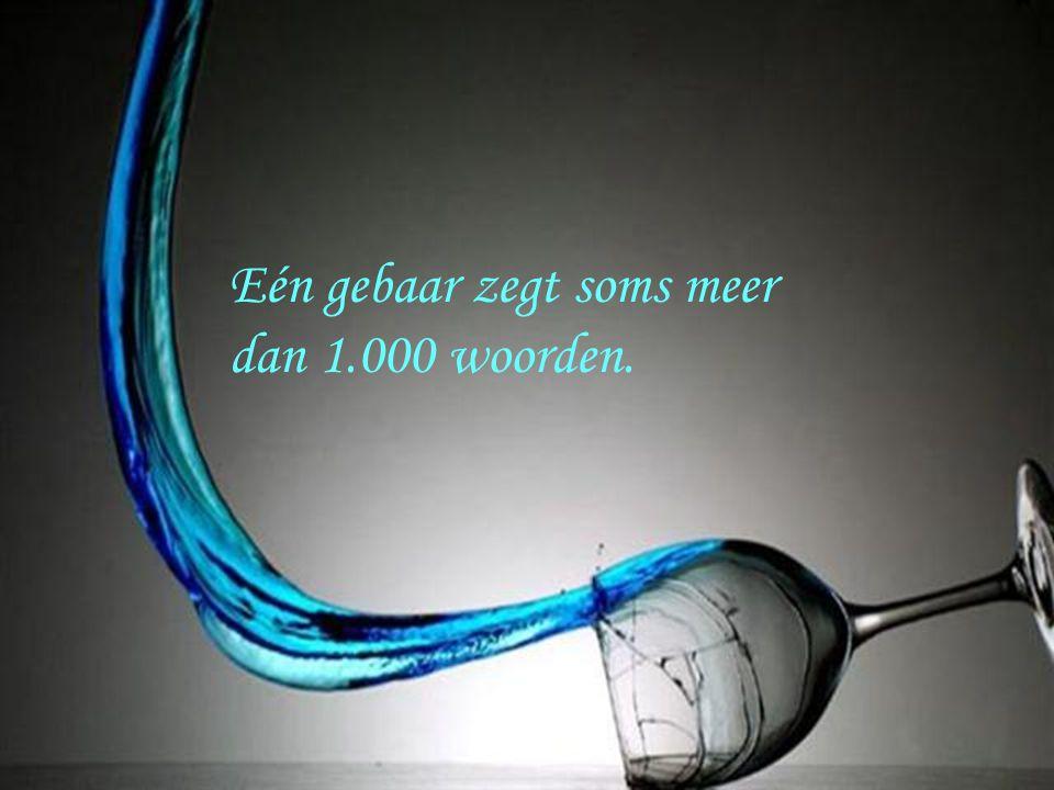 Margot Eén gebaar zegt soms meer dan 1.000 woorden.