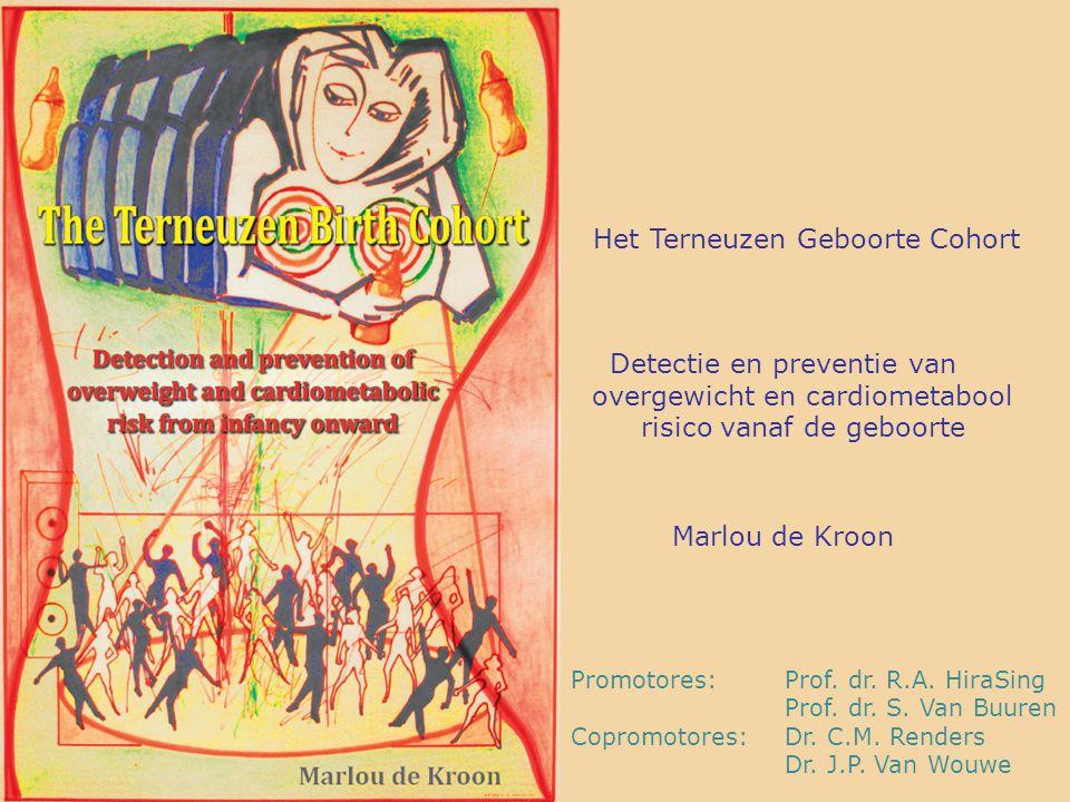 Promotores:Prof. dr. R.A. HiraSing Prof. dr. S. Van Buuren Copromotores:Dr. C.M. Renders Dr. J.P. Van Wouwe Het Terneuzen Geboorte Cohort Detectie en
