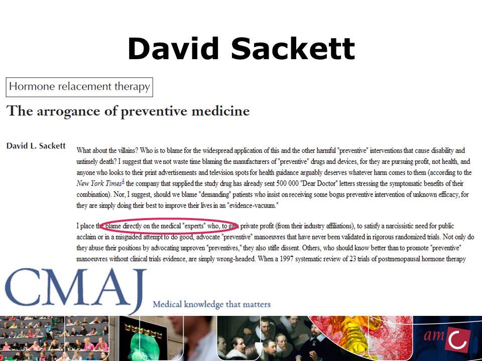 David Sackett