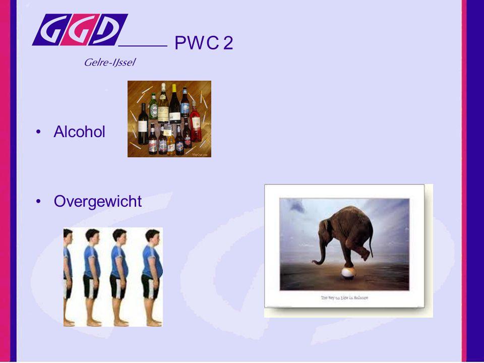 PWC 2 Alcohol Overgewicht