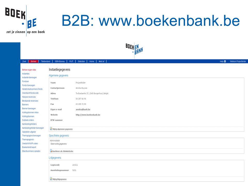 B2B: www.boekenbank.be