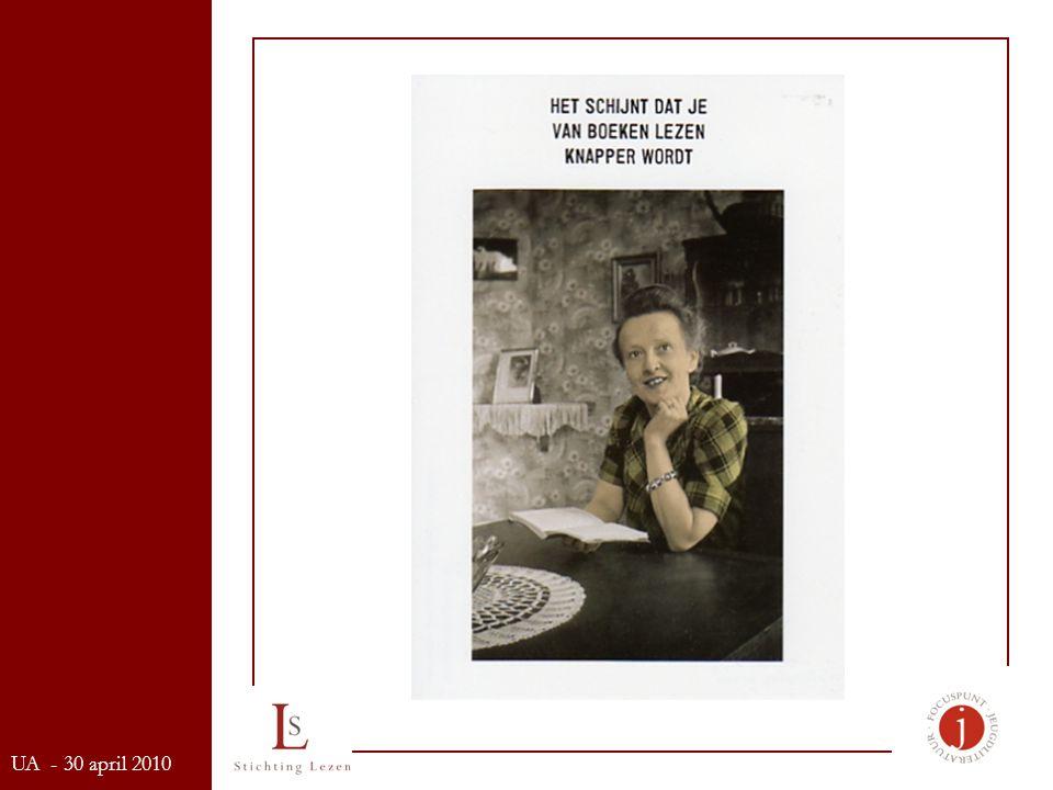 Onderzoek Survey Cultuurparticipatie 2003-2004 (Re-creatief Vlaanderen) Missie Filosofie Focuspunt Jeugdliteratuur UA - 30 april 2010