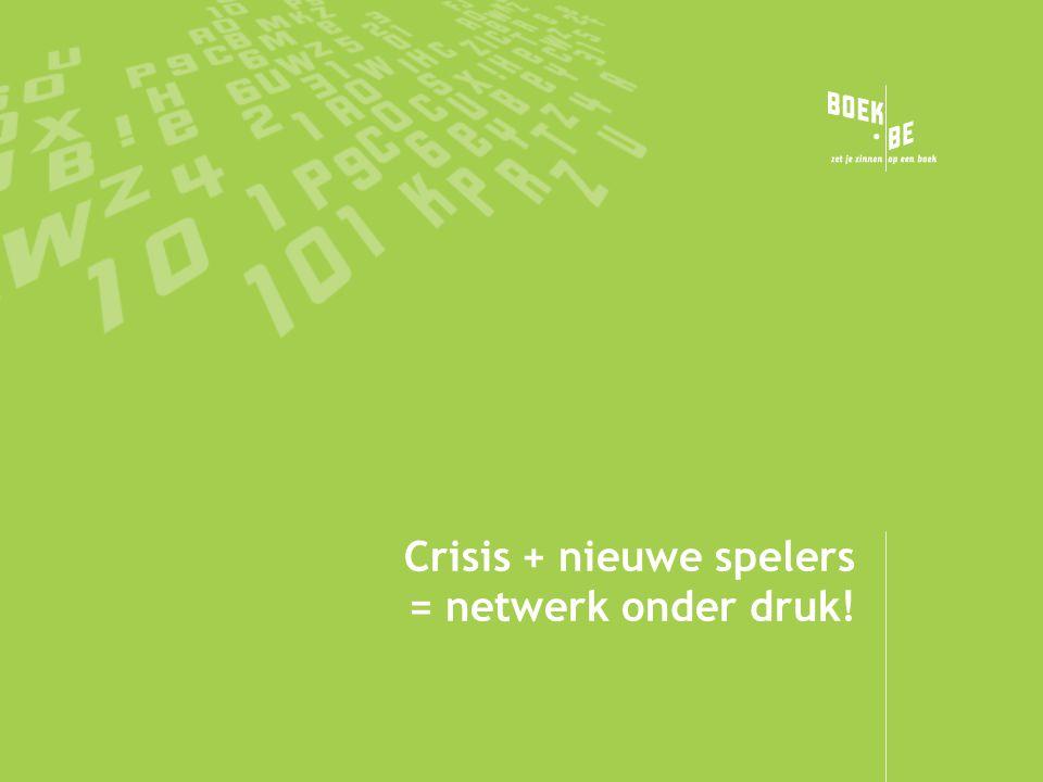 Crisis + nieuwe spelers = netwerk onder druk!