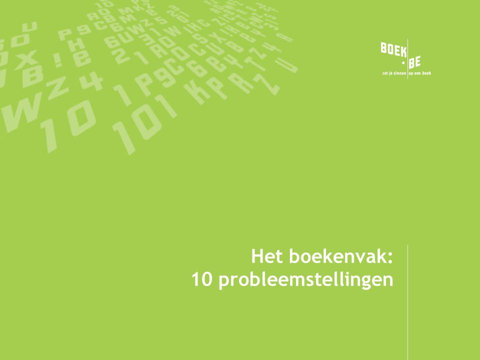 Het boekenvak: 10 probleemstellingen