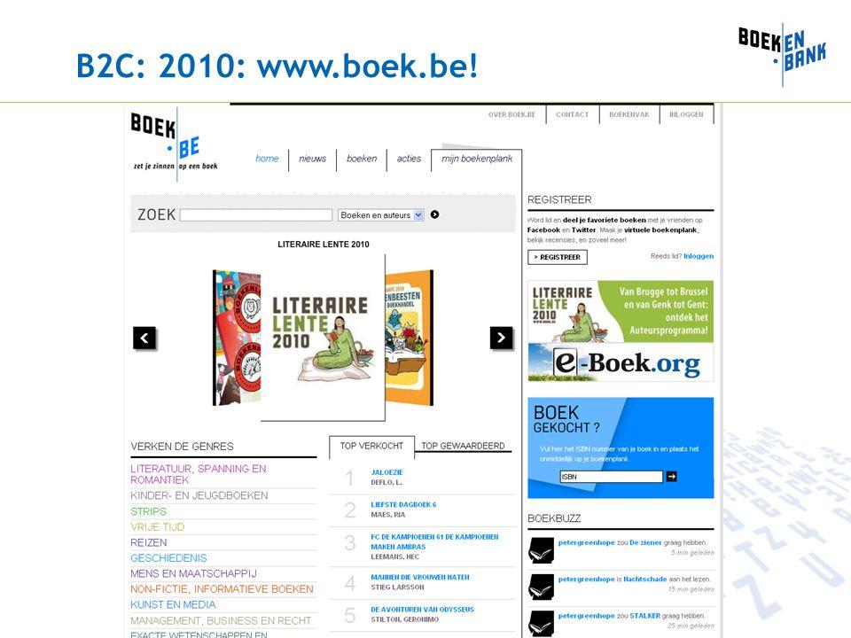 B2C: 2010: www.boek.be!