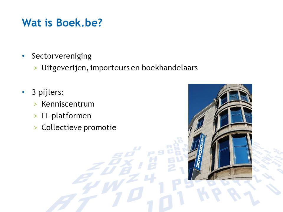 Wat is Boek.be.