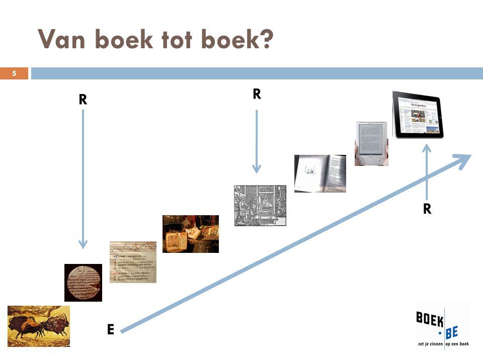 Van boek tot boek? R R E R 5