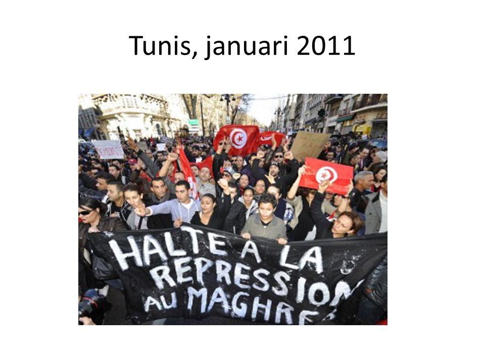 Tunis, januari 2011