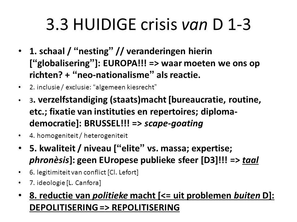 3.3 HUIDIGE crisis van D 1-3 1.