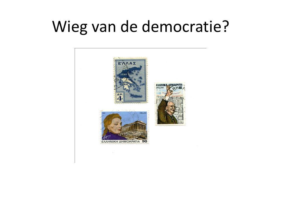2B: Democratisch systeem Democratisch proces speelt zich af in 3 lagen (die systemisch onderscheiden zijn, maar empirisch dooreen kunnen lopen) [ontleend aan Pierre Rosanvallon, Contre-démocratie]: D1: het actieve deel van het systeem (bijv.