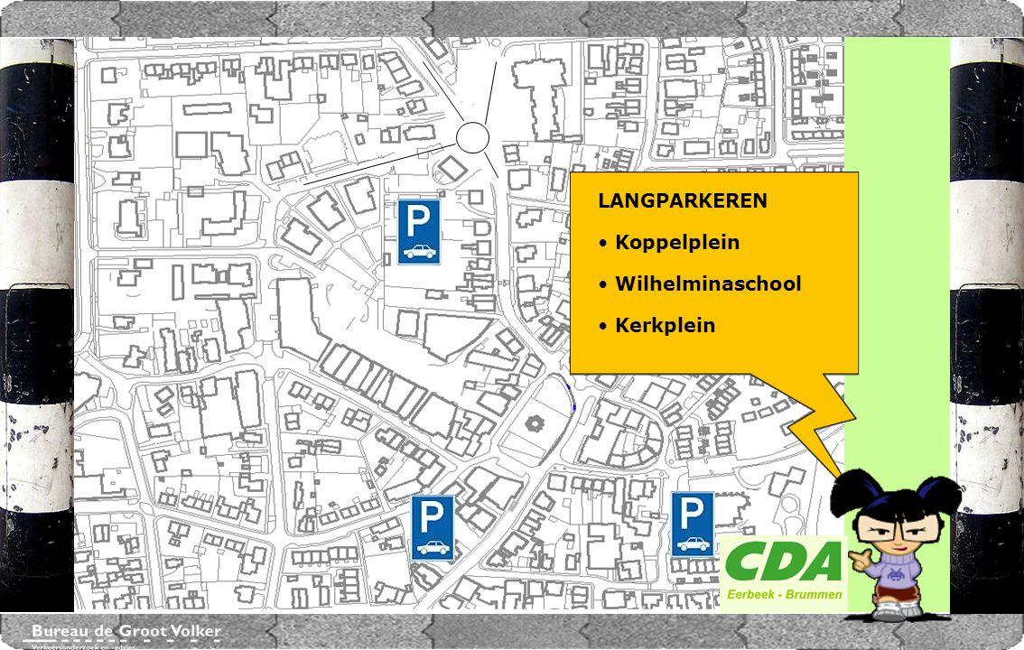 CENTRUMPLAN BRUMMEN LANGPARKEREN Koppelplein Wilhelminaschool Kerkplein