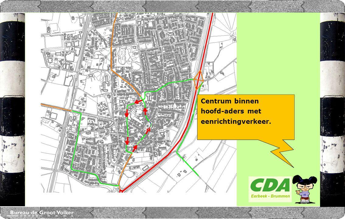 CENTRUMPLAN BRUMMEN Cortenoeverseweg N348 Marktplein AANSLUITING OP DE N348 N348