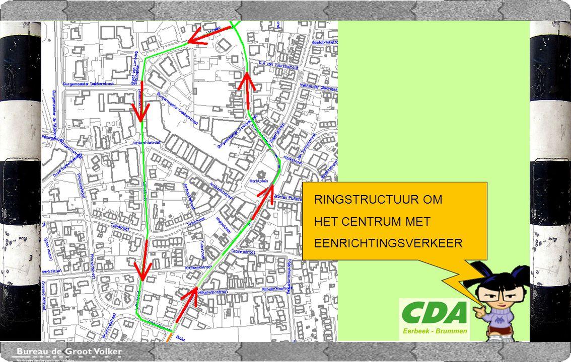 CENTRUMPLAN BRUMMEN Eenrichtingsverkeer tussen Kruisenkstraat en Marktplein met herprofilering Marktplein