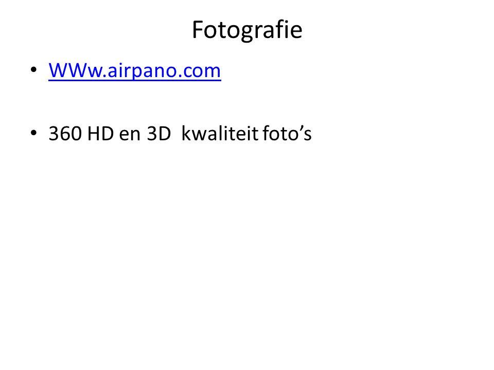 Fotografie WWw.airpano.com 360 HD en 3D kwaliteit foto's