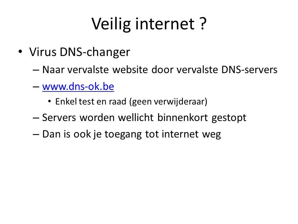 Veilig internet .
