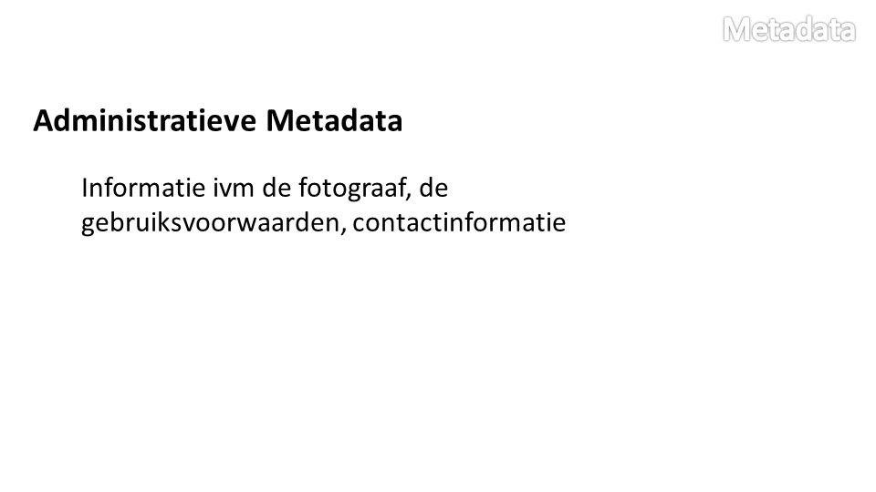 Hoe Metadata lezen.