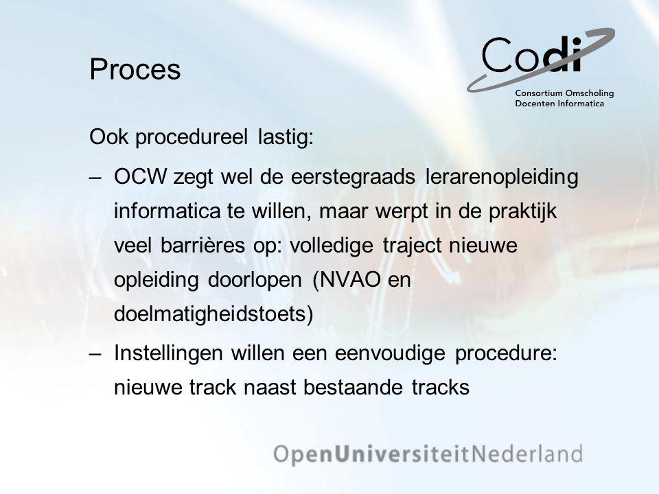 Resultaten Een model voor de opleiding De vakinhoudelijke competenties De vakdidactische competenties Gezamenlijk optrekken Perspectief op doorlopende samenwerking