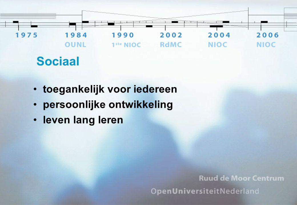 Sociaal toegankelijk voor iedereen persoonlijke ontwikkeling leven lang leren