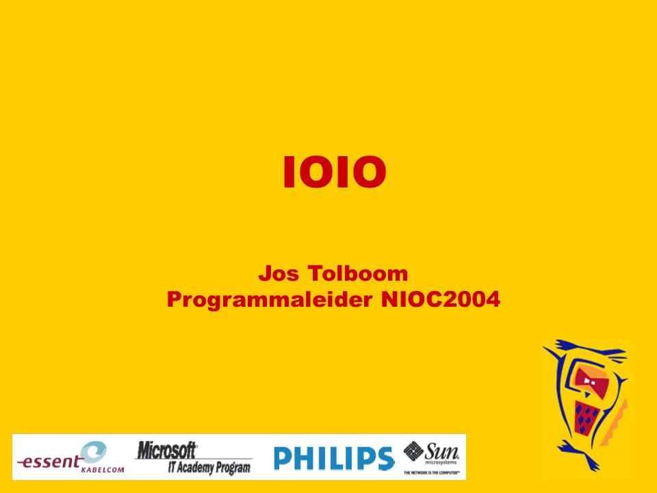 IOIO Jos Tolboom Programmaleider NIOC2004