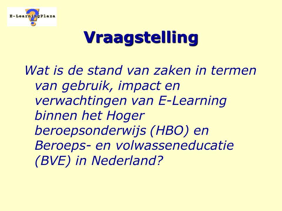 E-Learning Onder E-Learning verstaan wij het leren resp.
