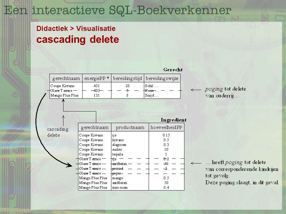 Didactiek > Visualisatie cascading delete