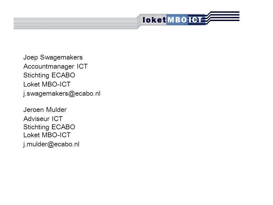 denkt met u mee Loket MBO ICT