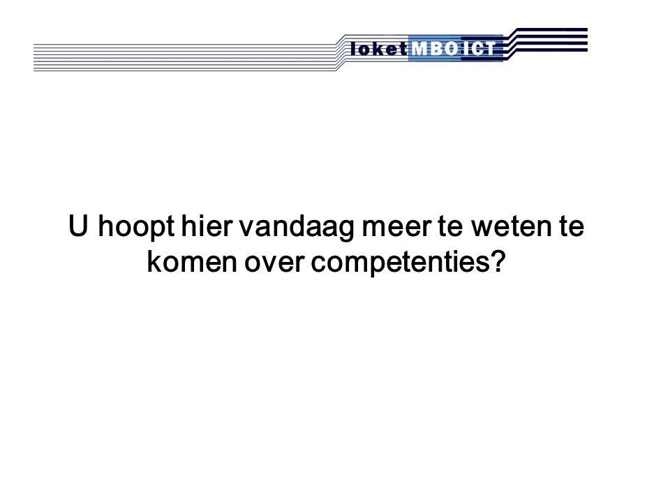 Nieuws  Eindtermdocumenten  Servicedocumenten  Publicaties en persberichten  Agenda  Discussie  Projecten  FAQ  Aanbod ICT-opleidingen per ROC http://www.loketmboict.nl