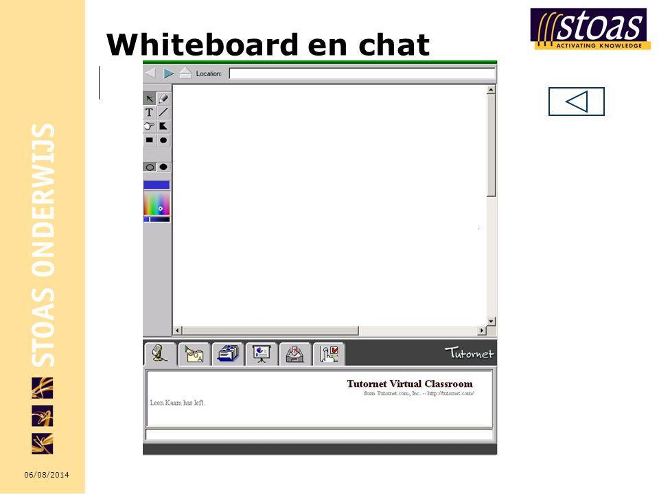 06/08/2014 Whiteboard en chat