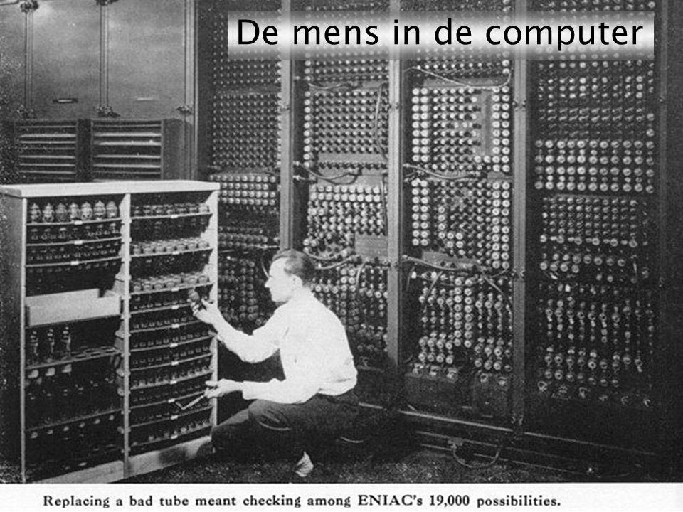 Kom verder. Saxion. 65 jaar com- puters De mens in de computer