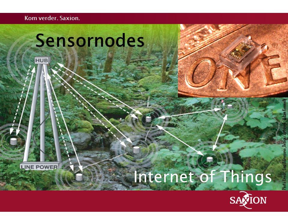 Kom verder. Saxion. Sensornodes Internet of Things