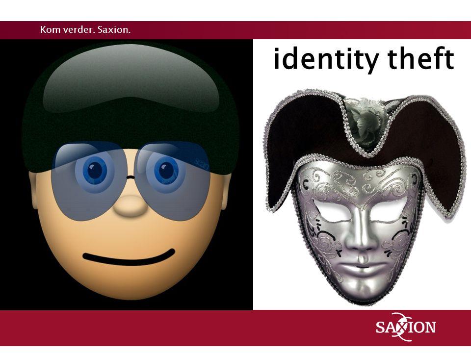 Kom verder. Saxion. identity theft