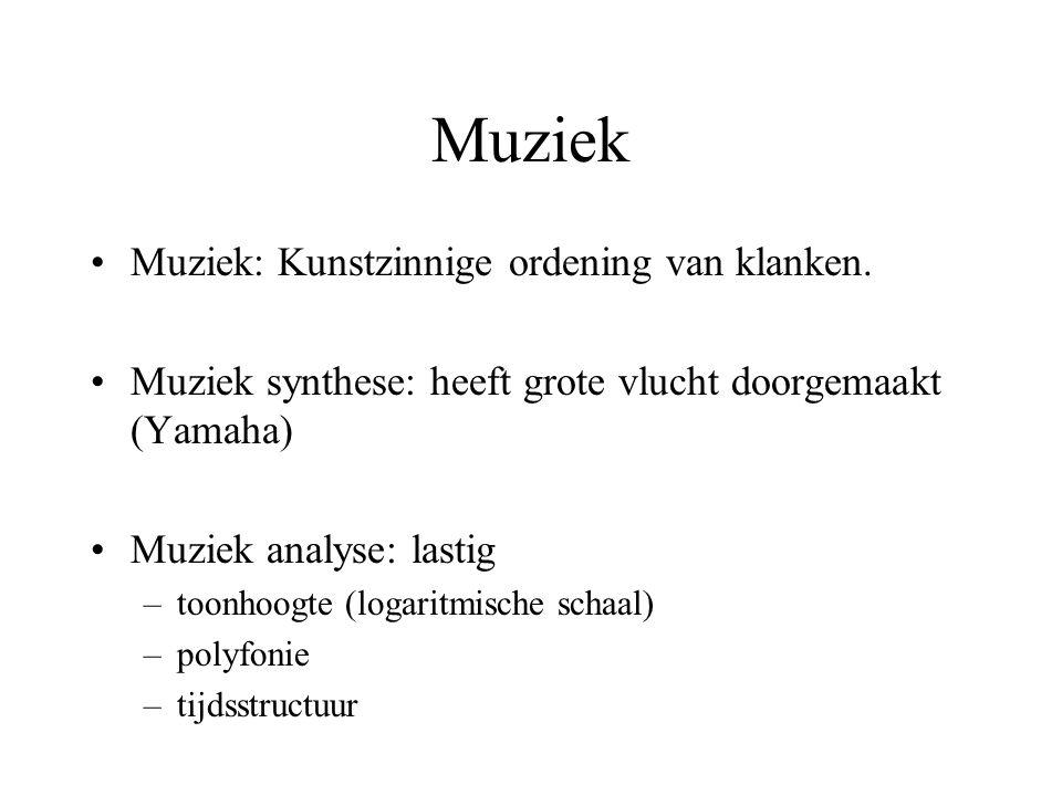 Muziek Muziek: Kunstzinnige ordening van klanken.