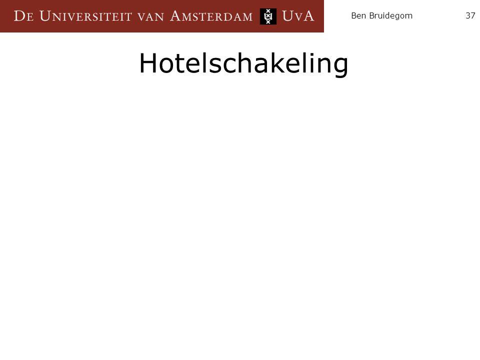 Ben Bruidegom37 Hotelschakeling