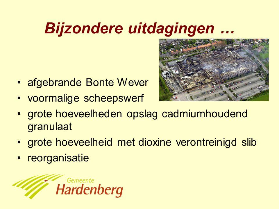 afgebrande Bonte Wever voormalige scheepswerf grote hoeveelheden opslag cadmiumhoudend granulaat grote hoeveelheid met dioxine verontreinigd slib reor