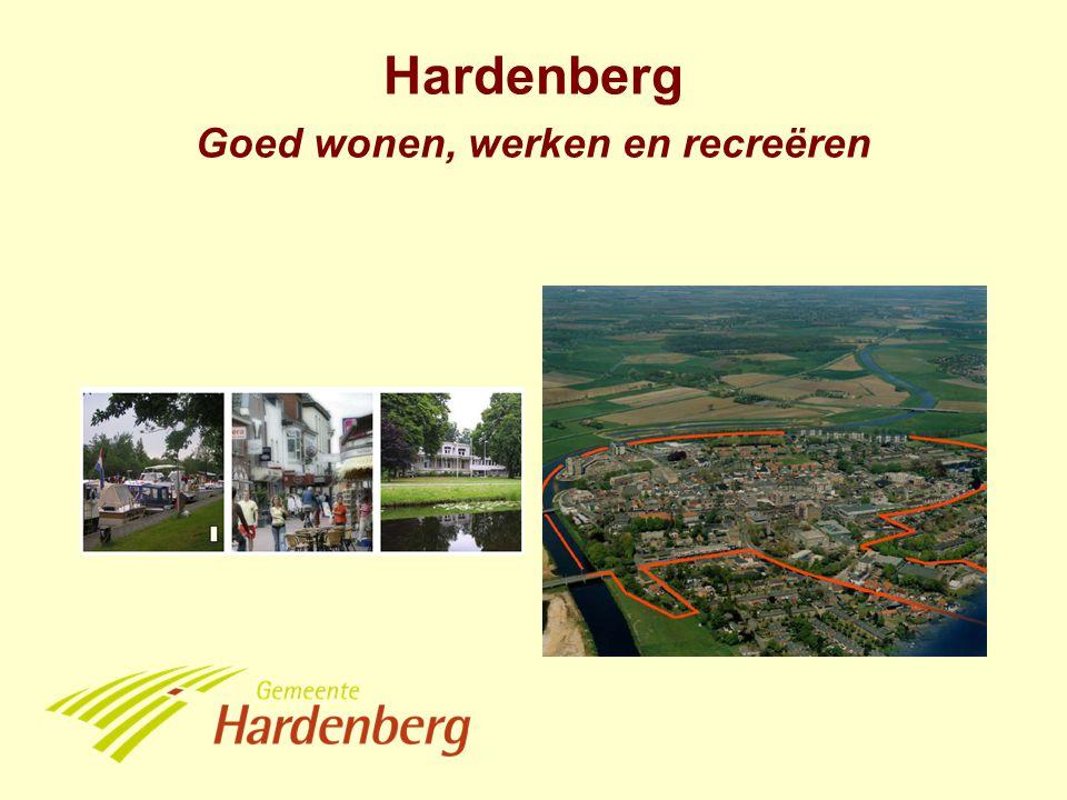 Hardenberg Goed wonen, werken en recreëren