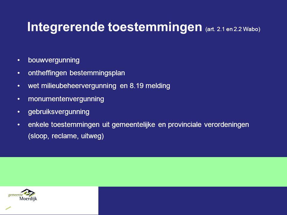 Integrerende toestemmingen (art.