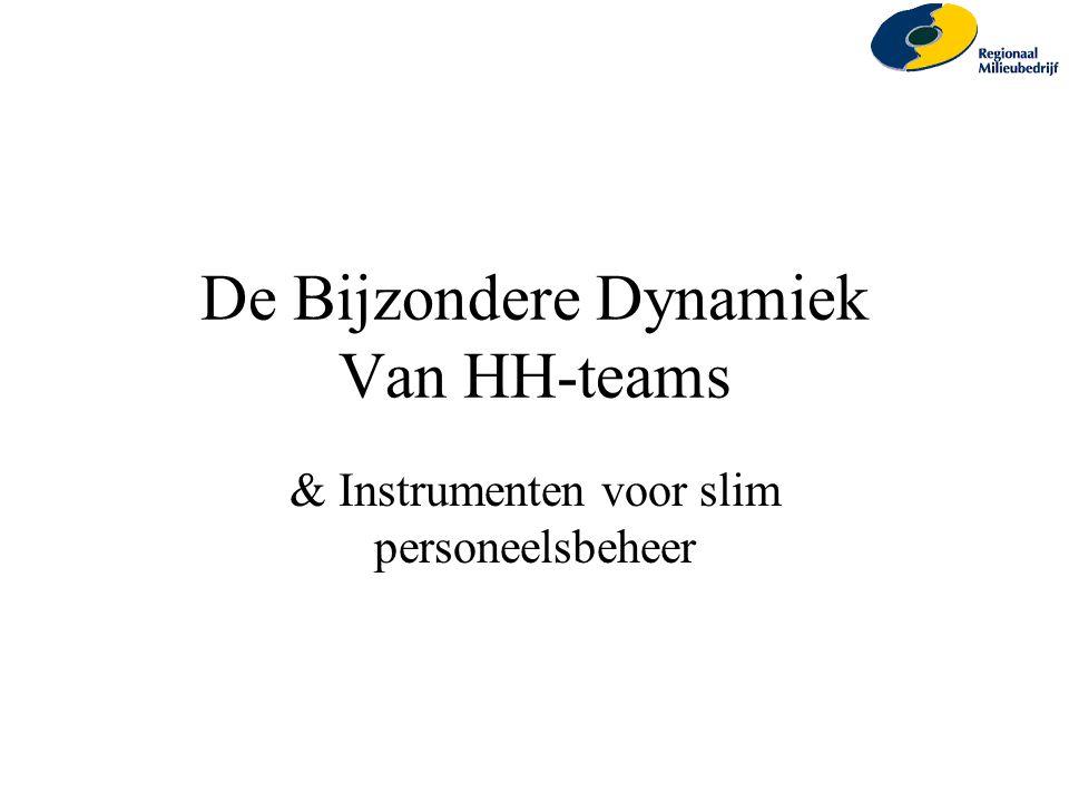 De Bijzondere Dynamiek Van HH-teams & Instrumenten voor slim personeelsbeheer