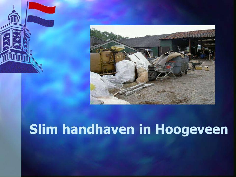 Slim handhaven in Hoogeveen