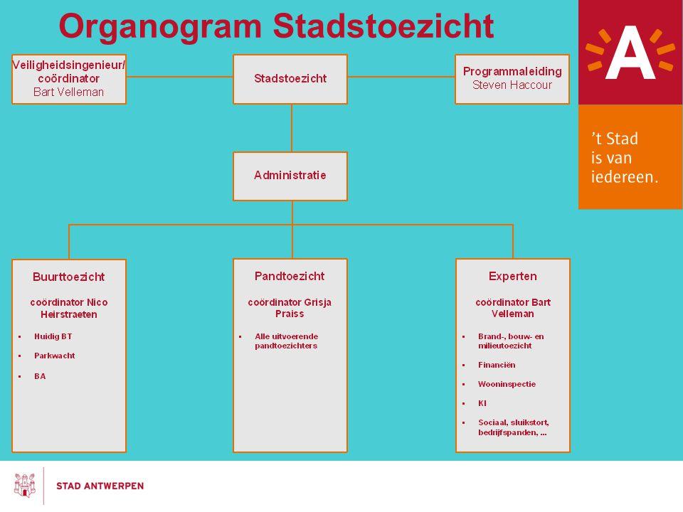 Organogram Stadstoezicht
