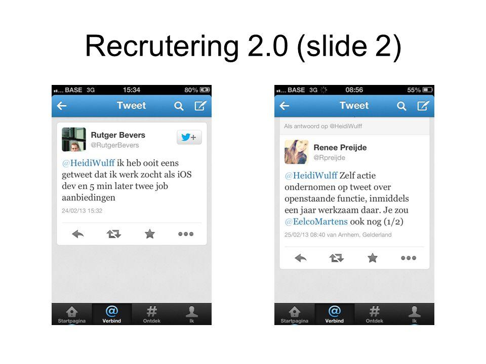 Recrutering 2.0 (slide 2)