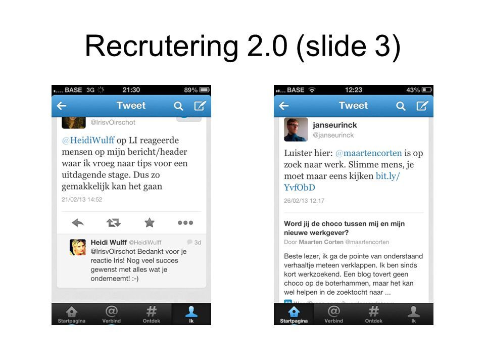 Recrutering 2.0 (slide 3)