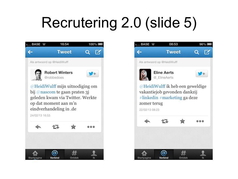 Recrutering 2.0 (slide 5)