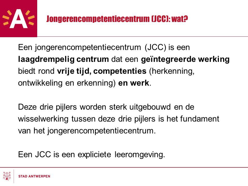 Jongerencompetentiecentrum (JCC): wat.