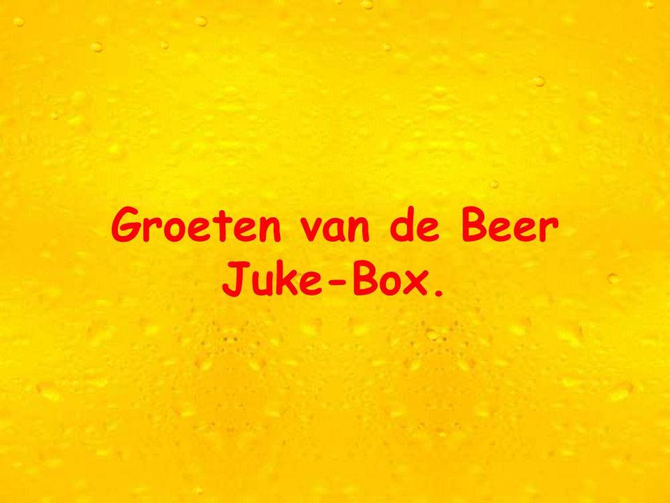 Natuurlijk is dit voor jou geen reden om je biertje te laten staan, toch denk je volgend weekend aan dit mailtje!