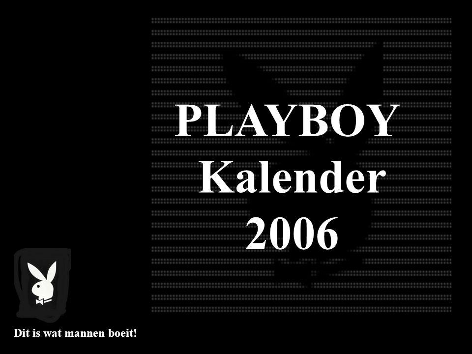 PLAYBOY Kalender 2006 Dit is wat mannen boeit!
