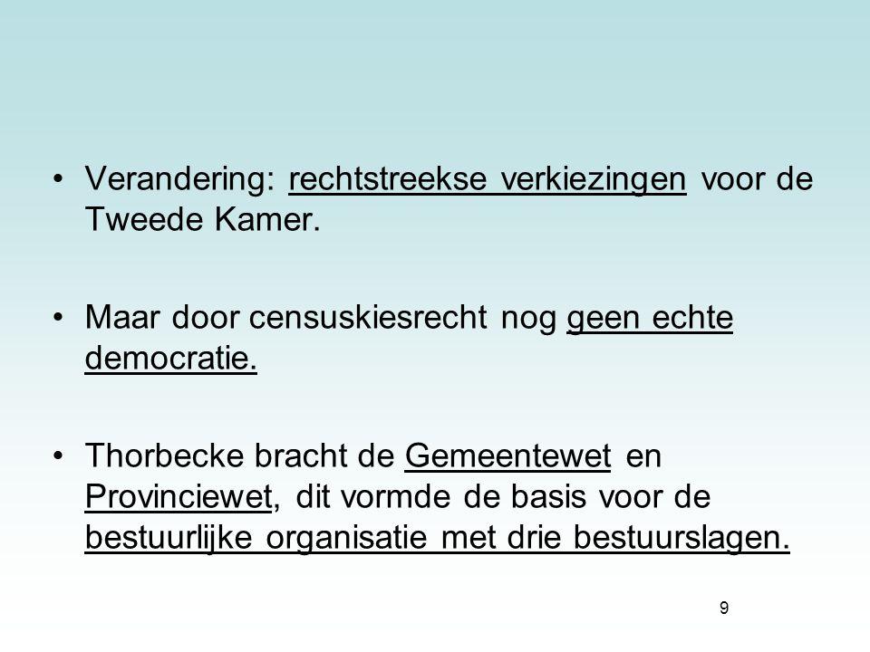 10 Willem III ~ niet populair.