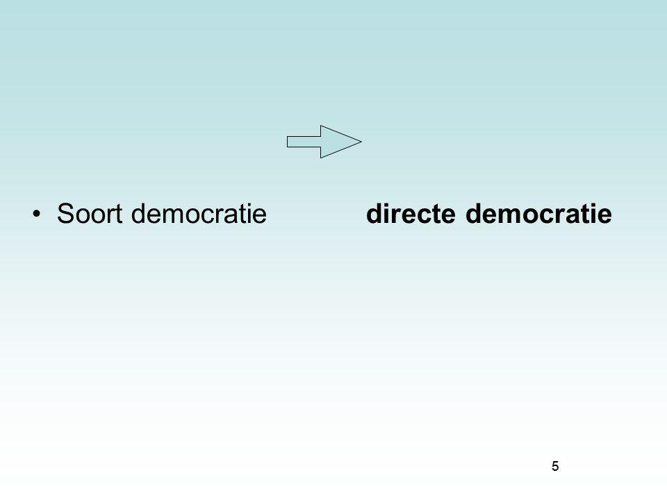 5 Soort democratie directe democratie 5