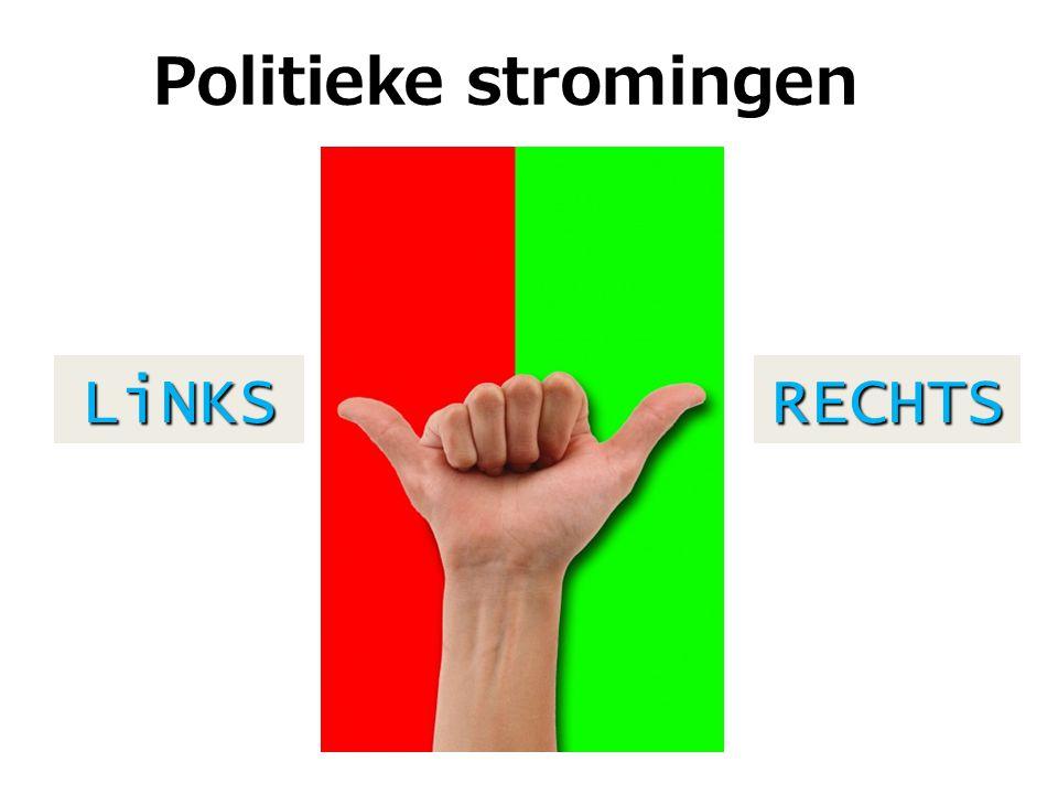 De politiek is een brij van stromingen…. Links? Rechts? Rechtdoorzee?