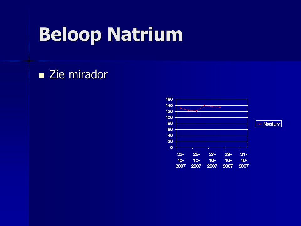 Beloop Natrium Zie mirador Zie mirador